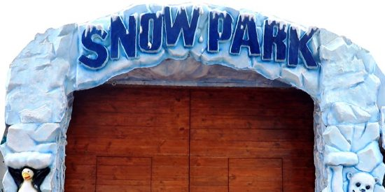 Snow Park - must visit places in Goa