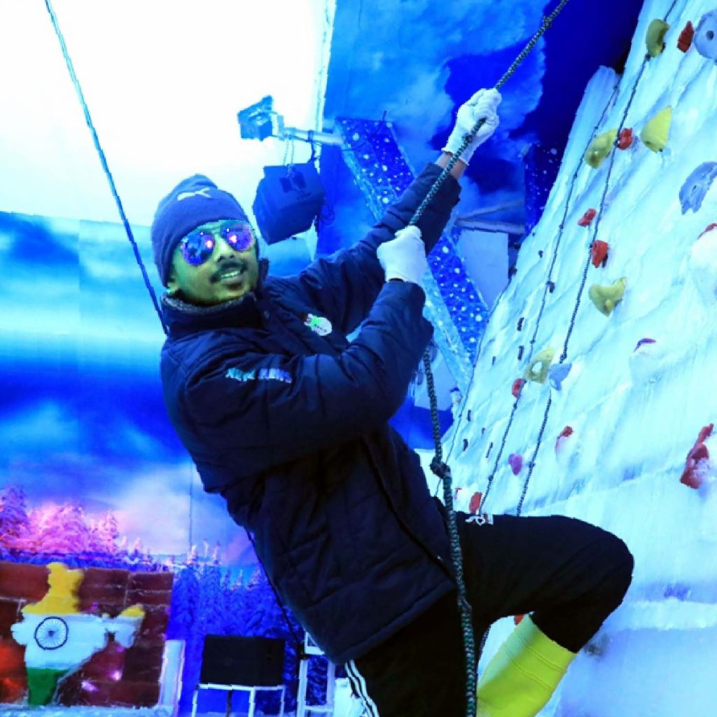 Sports activities in Goa -Ice Climbing