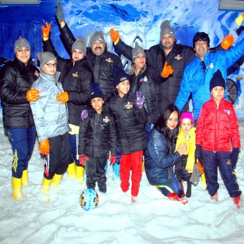 Snow sports activities in Goa for Families