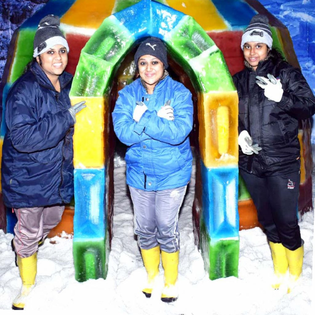Best Attractions in Goa-Ice Igloos