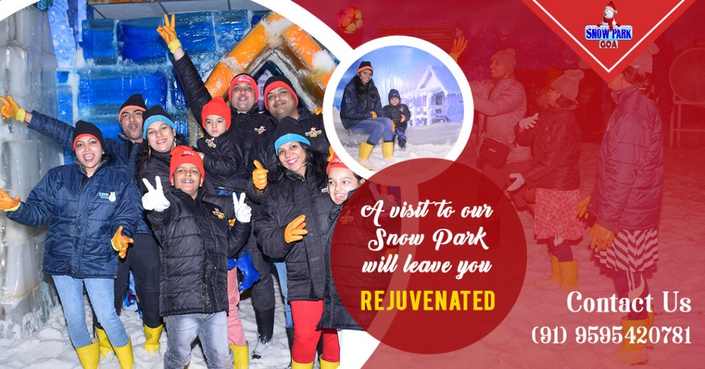 Snow Park Goa- Best snow theme park in Goa