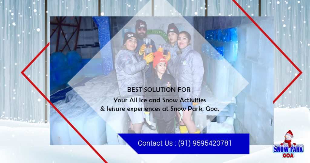 Snow activities in goa